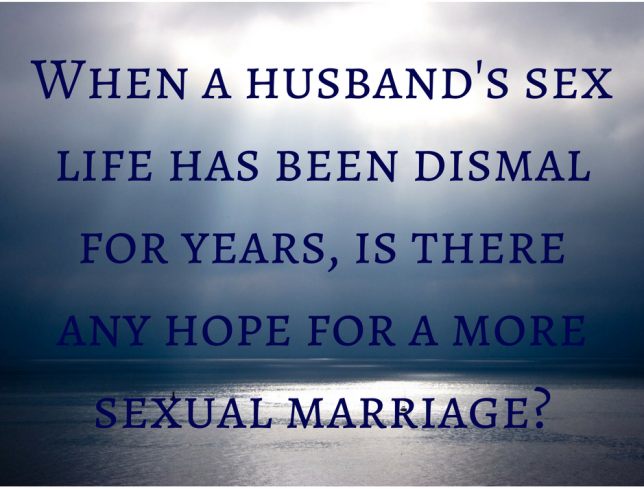 Is there any hope for a more sexual marriage?