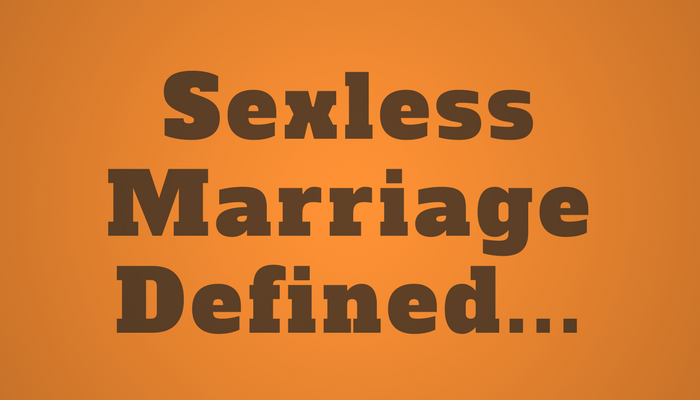 husband sexless marriage