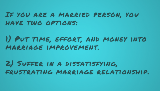 marriage improvement