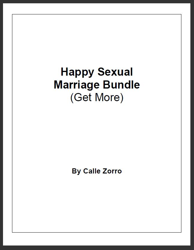 Happy Sexual Marriage Bundle - Get More