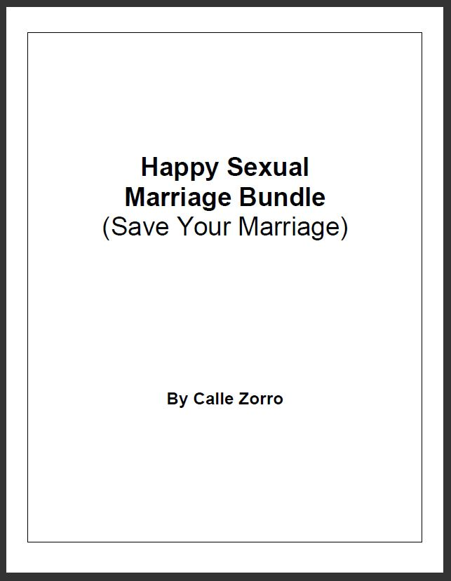 Happy Sexual Marriage Bundle - Save Your Marriage