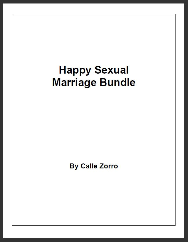 Happy Sexual Marriage Bundle - Baseline