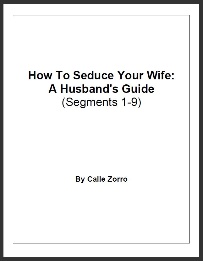 How To Seduce Your Wife: A Husband's Guide - Segments 1-9