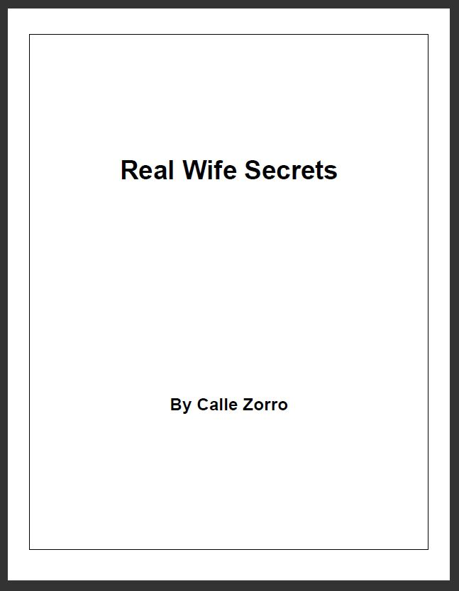 Real Wife Secrets